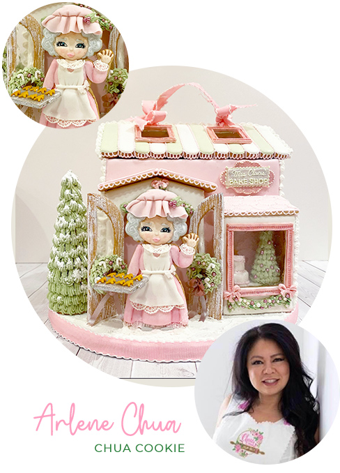 Mrs. Claus' Bake Shop Tutorial with Arlene Chua