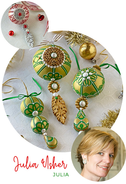 Julia Usher – 3D Ornament Cookie Class