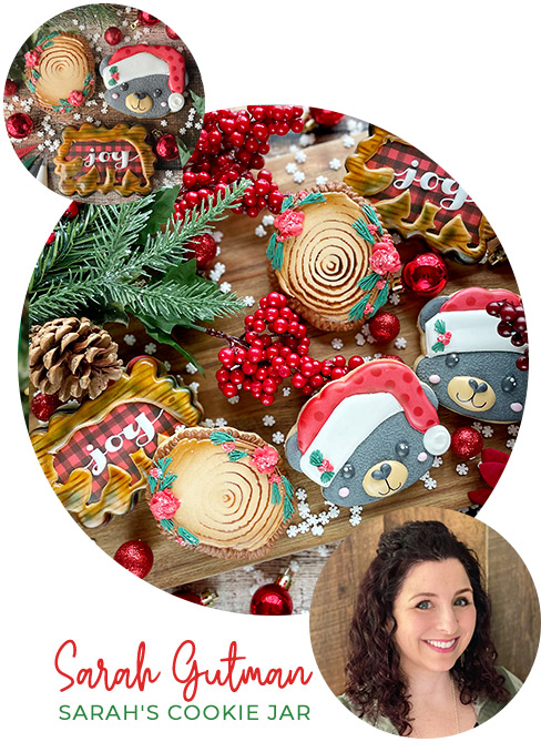 Beary Cute Winter Wonderland Cookie Class with Sarah's Cookie Jar