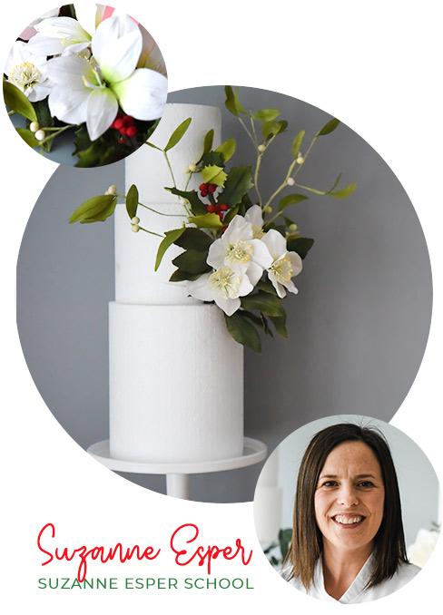 Christmas Sugar Flowers – Suzanne Esper